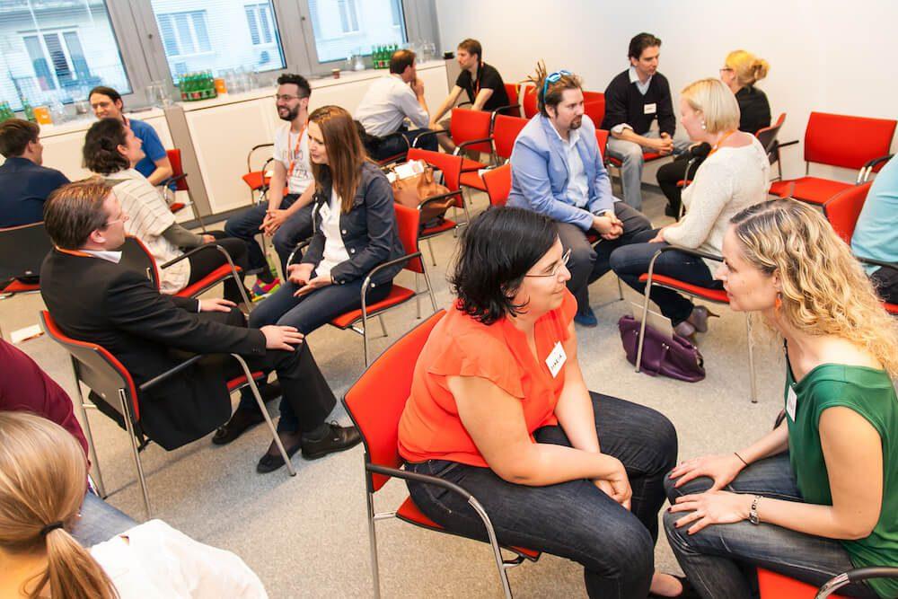 Seminargruppe Angstfrei Reden Coaching
