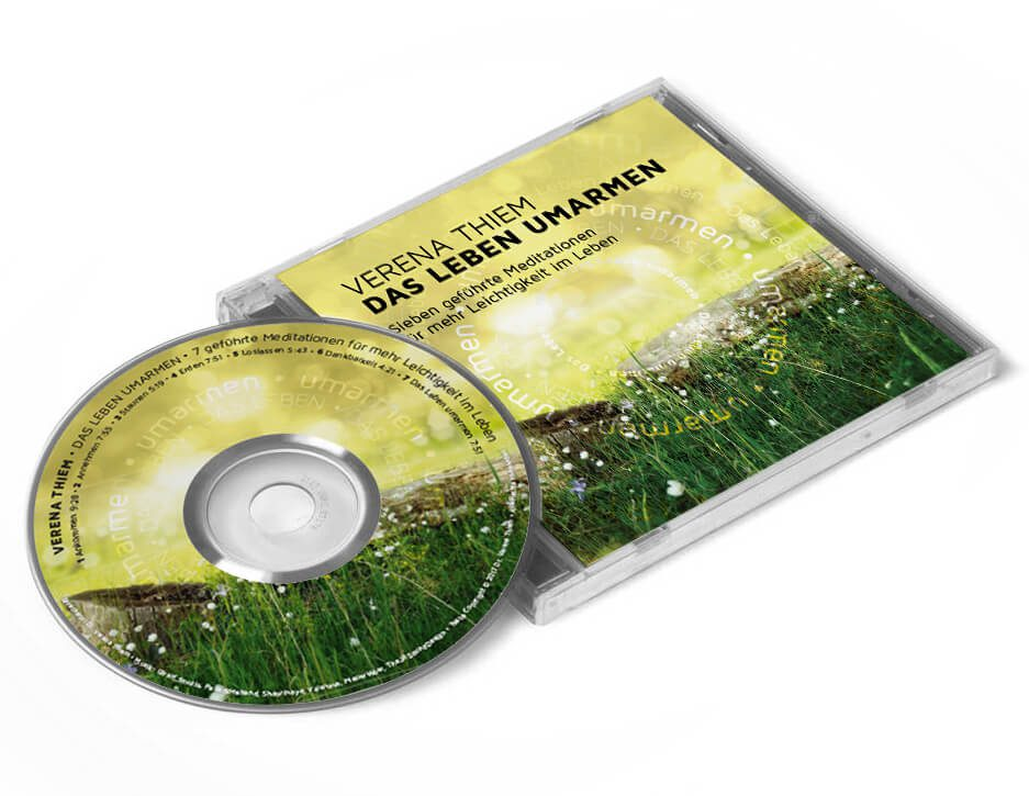 CD Cover der geführten Meditationen von Dr. Verena Thiem